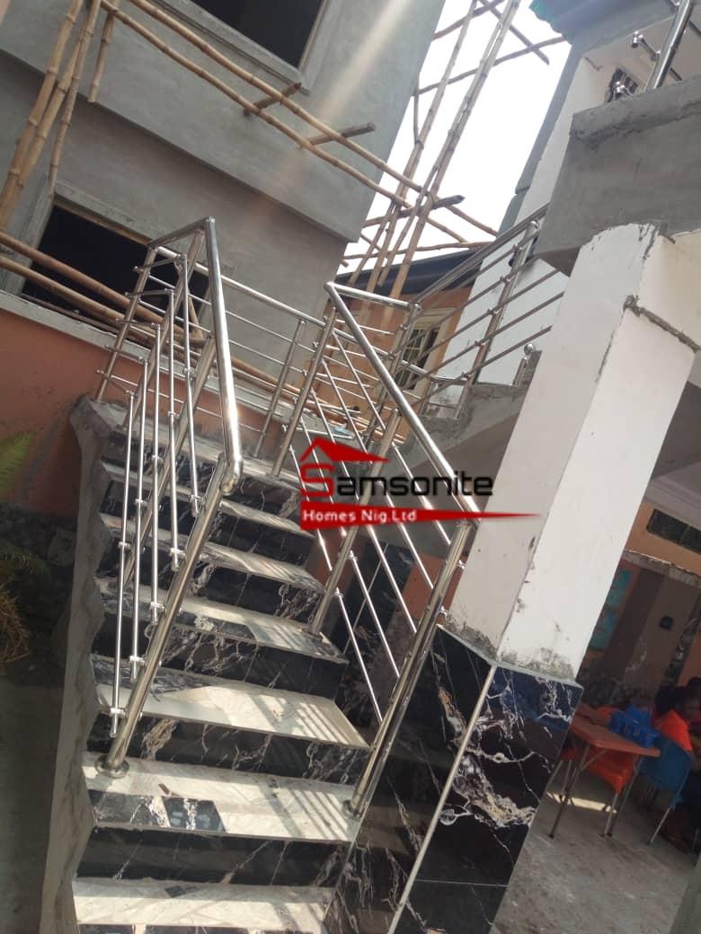 Staircase Handrill | Samsonite Homes Nig Ltd